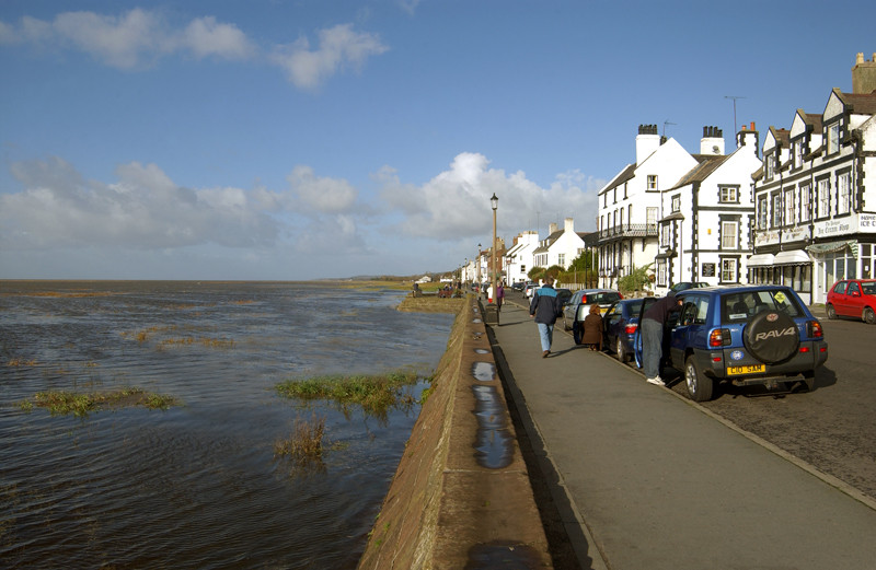 High tide at Parkgate